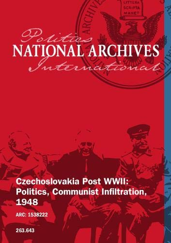 Czechoslovakia Post WWII: Politcs, Communist Infiltration, 1948