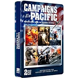 Campaigns in the Pacific - COLLECTOR'S EMBOSSED TIN!