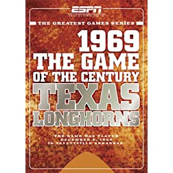 ESPN Game of the Century: 1969 Texas Longhorns vs. Arkansas Razorbacks