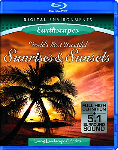 Living Landscapes: Earthscapes - World's Most Beautiful Sunrises & Sunsets [Blu-ray]