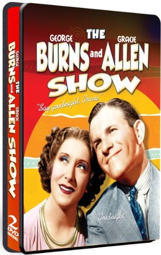 George Burns & Gracie Allen Show - COLLECTOR'S EMBOSSED TIN - 2 DVD SET!