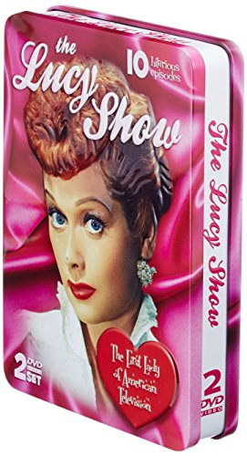 The Lucy Show - COLLECTOR'S EMBOSSED 2 DVD TIN! 10 EPISODES