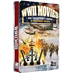 WWII Movies - The Collector's Edition - COLLECTOR'S EMBOSSED 2 DVD TIN!
