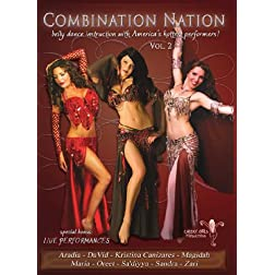 Combination Nation Vol 2: Belly Dance Instruction with America's Hottest Performers
