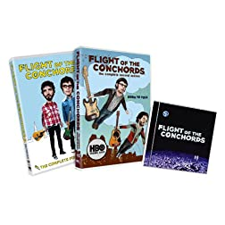 Flight of the Conchords: The Complete First and Second Seasons w/CD