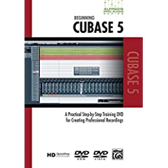 Alfred's Pro-Audio -- Cubase: A Practical Step-by-Step Training DVD for Creating Professional Recordings (DVD)