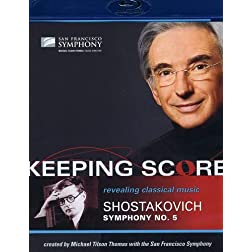 Keeping Score-Shostakovich: Symphony No. 5 [Blu-ray]