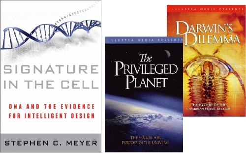 Signature in the Cell / The Privileged Planet / Darwin's Dilemma - Book & 2-DVD Set