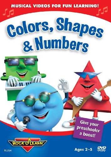 Rock N Learn: Colors, Shapes & Numbers