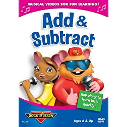 Rock N Learn: Add & Subtract