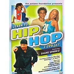Learn To Hip Hop Collection (Vol. 1, 2 & 3) / Featuring Shane Sparks