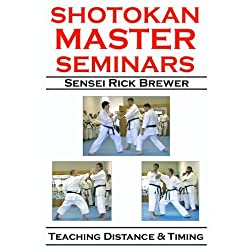 Shotokan Master Seminars: Teaching Distance & Timing