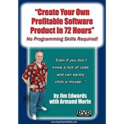 Create Your Own Profitable Software Product In 72 Hours... No Programming Skills Required!