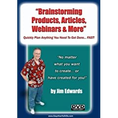 """""""Brainstorming Products, Articles, Webinars & More... Quickly Plan Anything You Need To Get Done... FAST!"""""""