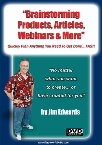 """Brainstorming Products, Articles, Webinars & More... Quickly Plan Anything You Need To Get Done... FAST!"""