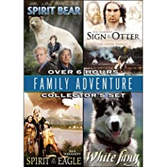 Family Adventure Collector's Set: Spirit Bear/Sign of the Otter/Spirit of the Eagle/White Fang