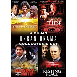 Urban Drama Collector's Set: The River Niger/Blood Tide/Deadly Drifter/Resting Place