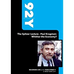 92Y-The Spitzer Lecture - Paul Krugman: Whither the Economy? (September 9, 2005)