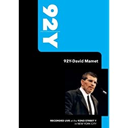 92Y-David Mamet (March 25, 2002)