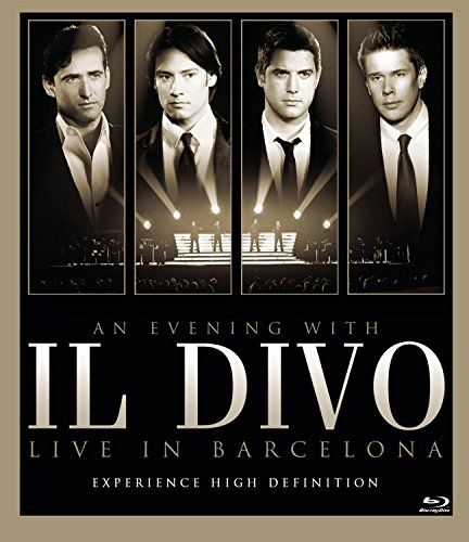 An Evening with Il Divo: Live in Barcelona [Blu-ray]