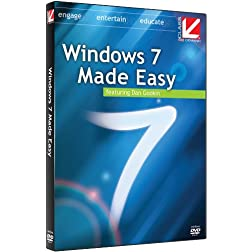 Class on Demand: 2010 Windows 7 Made Easy:Microsoft Windows 7 Educational Tutorial Training DVD