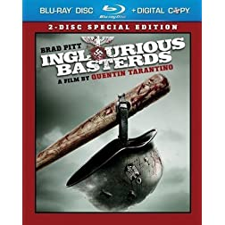 Inglourious Basterds (Two-Disc Special Edition) [Blu-ray]