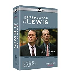 Inspector Lewis Complete Set: Pilot, Series 1 & 2