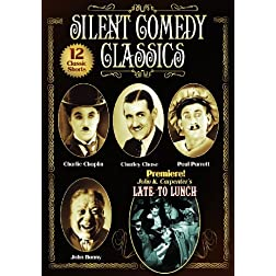 Silent Comedy Classics: 12 Classic Shorts (Fluttering Hearts / Mighty Like A Moose / The Caretaker's Daughter / Be Your Age / Forgotten Sweeties / Late ... Locket / Judge Jones / Laffin Gas & More)