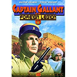 Captain Gallant of the Foreign Legion, Volume 4