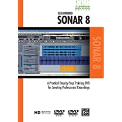 Alfred's Pro-Audio -- Sonar: A Practical Step-by-Step Training DVD for Creating Professional Recordings (DVD)
