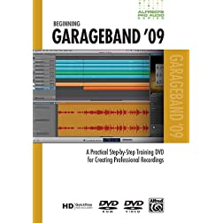 Alfred's Pro-Audio -- GarageBand 09: A Practical Step-by-Step Training DVD for Creating Professional Recordings (DVD)