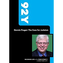 92Y - Dennis Prager: The Case for Judaism (March 11, 2008)
