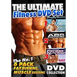 The Ultimate Fitness DVD Collection (3 DVD Set)