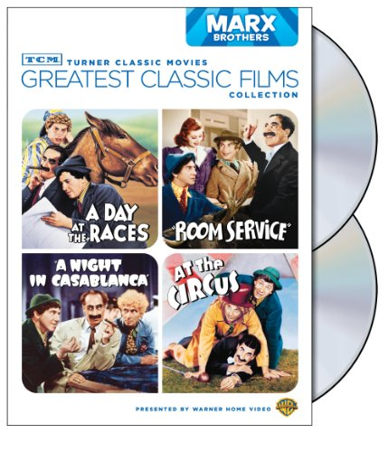 TCM Greatest Classic Films Collection: Marx Brothers (A Day at the Races / A Night in Casablanca / Room Service / At the Circus)