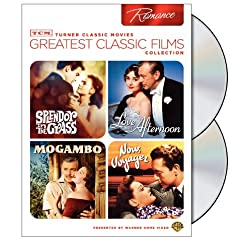 TCM Greatest Classic Films Collection: Romance (Splendor in the Grass / Love in the Afternoon / Mogambo / Now Voyager)