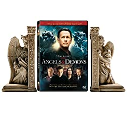 Angels & Demons Giftset with Bookends