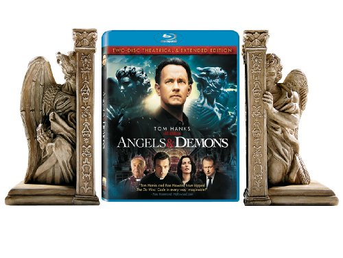 Angels & Demons Giftset with Bookends [Blu-ray]