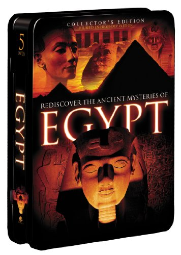 Rediscover the Ancient Mysteries of Egypt (5-pk)(Tin)