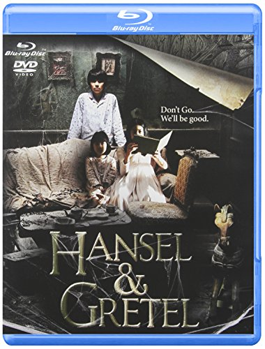 Hansel and Gretel DVD and Blu Ray Combo