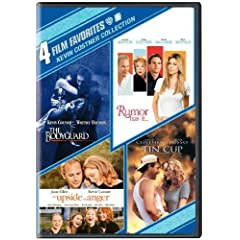 Kevin Costner Collection: 4 Film Favorites (The Bodyguard / Rumor Has It... / The Upside of Anger / Tin Cup)
