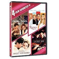 Romance Collection: 4 Film Favorites (Music & Lyrics / Rumor Has It... / Sweet November2001 / Lucky You)