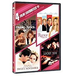 Romance Collection: 4 Film Favorites (Music & Lyrics / Rumor Has It... / Sweet November2001 / Lucky You)