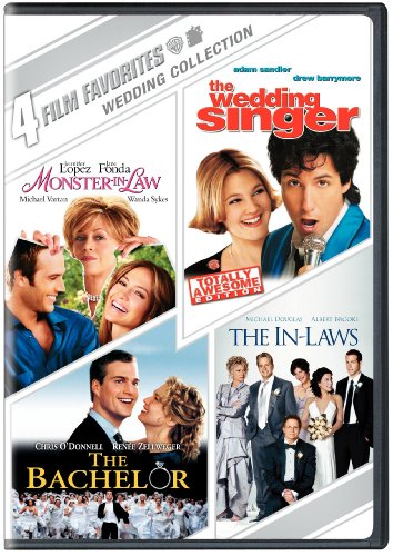 Wedding Collection: 4 Film Favorites (Monster-in-Law / The Wedding Singer / The Bachelor / The In-Laws 2003)