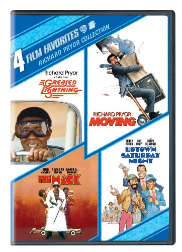 Richard Pryor Collection: 4 Film Favorites (Greased Lightning / Moving / The Mack / Uptown Saturday Night)