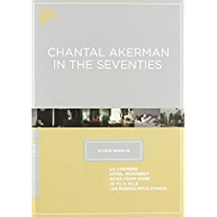 Eclipse Series 19 - Chantal Akerman in the Seventies (La Chambre / Hotel Monterey / News from Home / Je Tu Il Elle / Les Rendez-vous D'Anna) (Criterion Collection)
