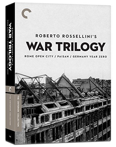 Roberto Rossellini's War Trilogy (Rome Open City/Paisan/Germany Year Zero) (Criterion Collection)