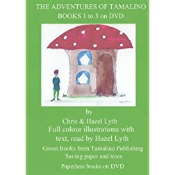 The Adventures of Tamalino. Books 1 to 3. NTSC DVD