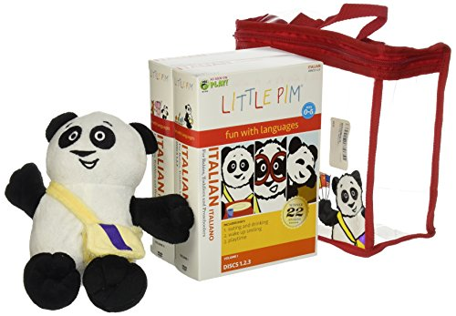 Little Pim Italian: Gift Set
