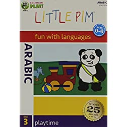 Little Pim Arabic: Playtime (Disc 3)