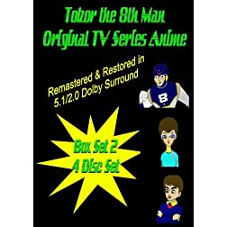 Tobor the 8th Man Original TV Series Anime Box Set 2 [4 DISC SET]
